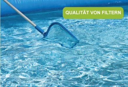 Qualität von WasserFiltern